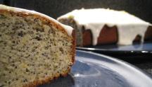 Lemon and poppy seed cake